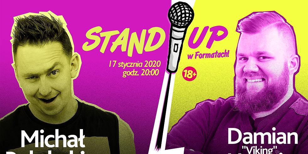 """Stand-up w Formatach // Damian """"Viking"""" Usewicz i Michał Pałubski"""