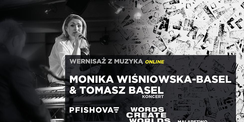 Wernisaż z muzyką #online // Basel Duo & Pfishova