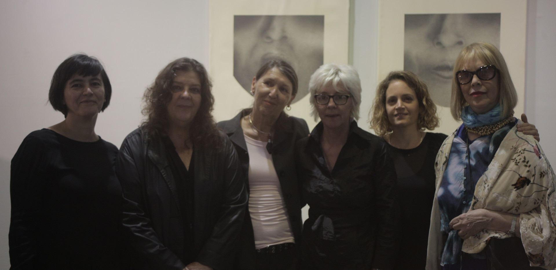 De izquierda a derecha: Alita Olivari, Crsitina Schiavi, Ana López, Dolores Casares, Mariana César y Elsa Soibelman