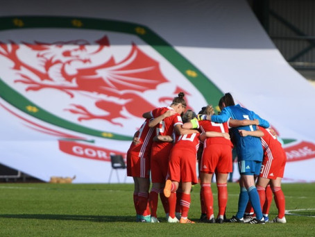 There was something unusual about Wales Women's kit last night, but did you spot it?