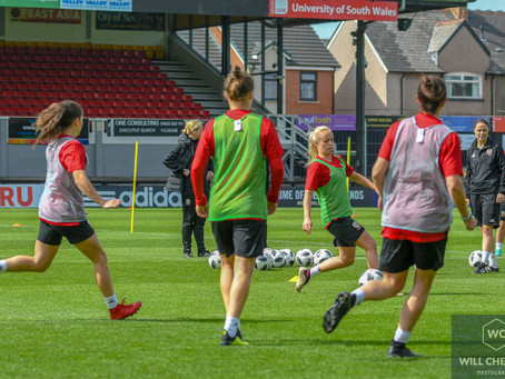 Youth at forefront of Wales Women's Squad