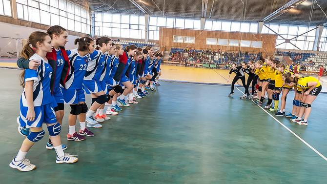 2-ой полуфинальный этап Всероссийских спортивных соревнований по гандболу в городе Тольятти.
