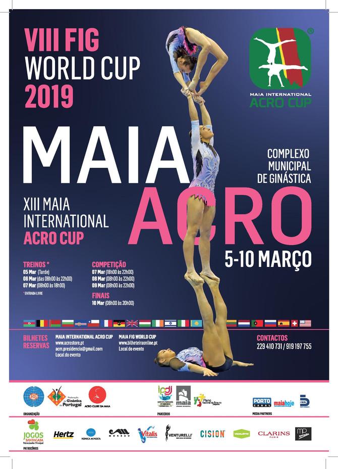 Кубок Мира по спортивной акробатике 2019 г. в Португалии (FIG World Cup) .