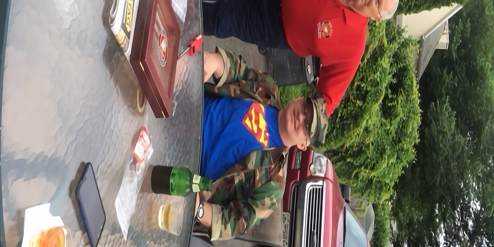 Red Shirt/Whisky-Cigar Night
