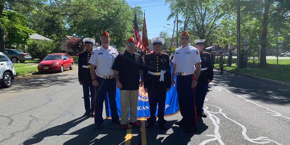 Roselle Borough Hall - Veterans Color Guard