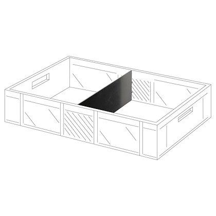 Kistentrennwand - für Hanglagen
