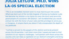 Julia Letlow, Ph.D Wins LA-05 Special Election