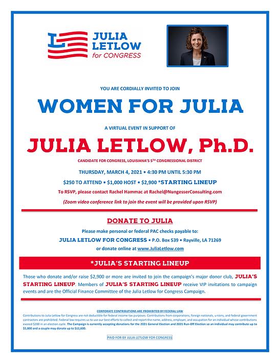 Women for Julia Virtual Event 3.4.21-1.p