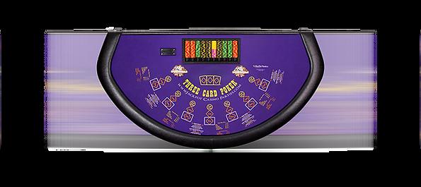 Three Card poker casino table rentals