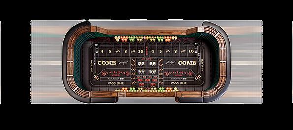 Oklahoma casino night rental craps table