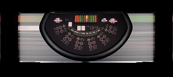 ultimate poker table rental