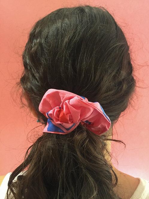 Cherry Print Scrunchie