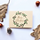 Thumbnail: Set van 4 kerstkaarten op kraft papier