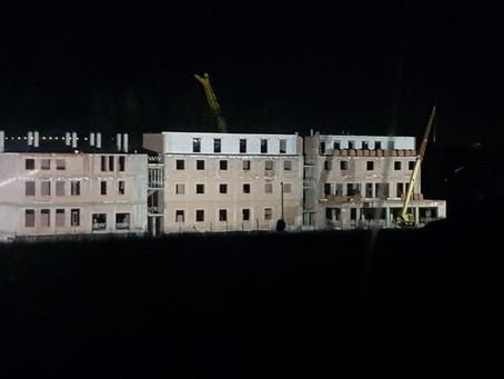 Березень-квітень - будівництво Семінарії