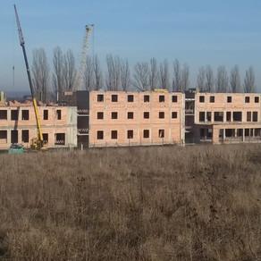 Будівництво Семінарії станом на початок 2020 року
