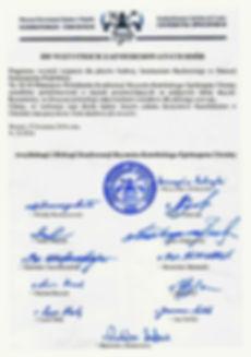 Ukranian Bishops' Conference support letter