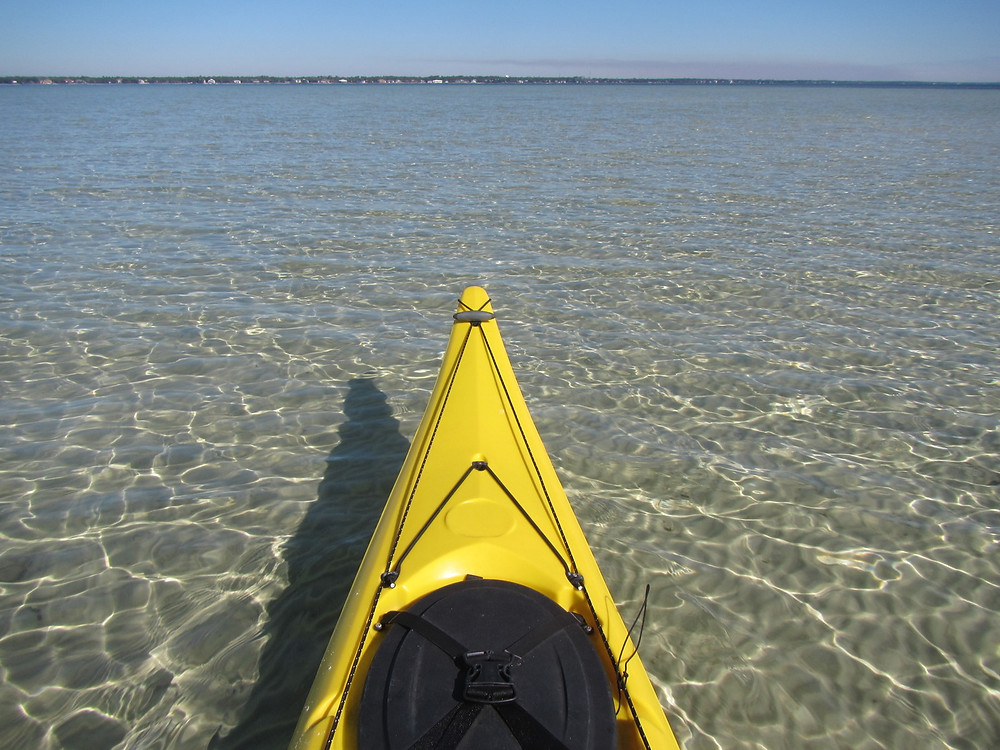 Kayaking on the Santa Rosa Sound