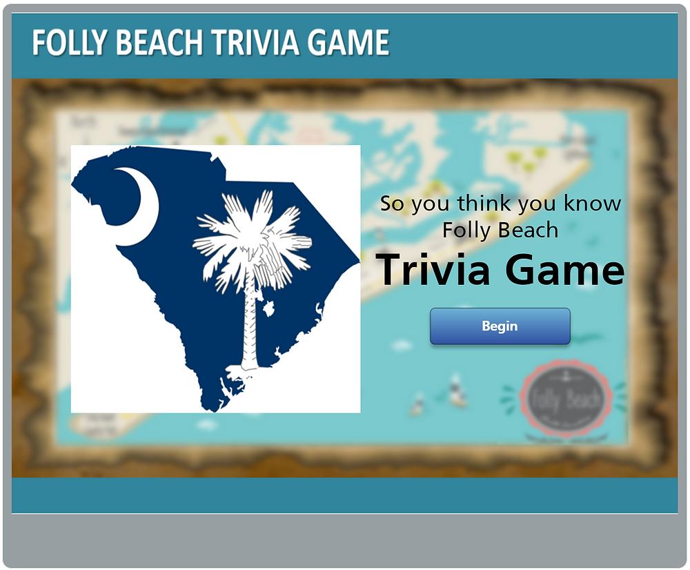 Trivia Game Opening Screen