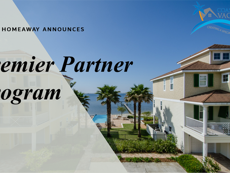 Coast Awhile Vacation Rentals is Proud to Be a HomeAway Premier Partner
