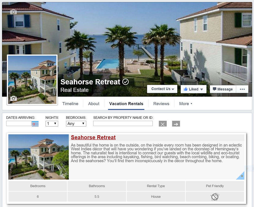 Navarre Vacation Rental Home