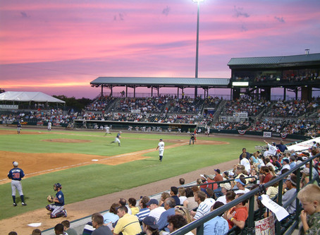 TOP SIX REASONS TO GO TO A CHARLESTON RIVERDOGS GAME