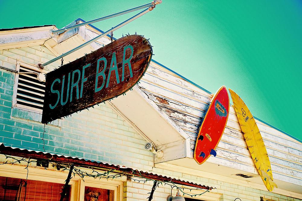 The Surf Bar on Folly Beach