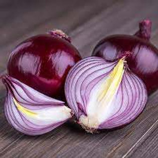 Onions - Cabernet (Red) Onion Seedlings (10-13 per order)