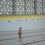 Piscine, quai Saint-Jean, travaux piscine, photographie piscine, maitre nageur, Blois, piscine Blois
