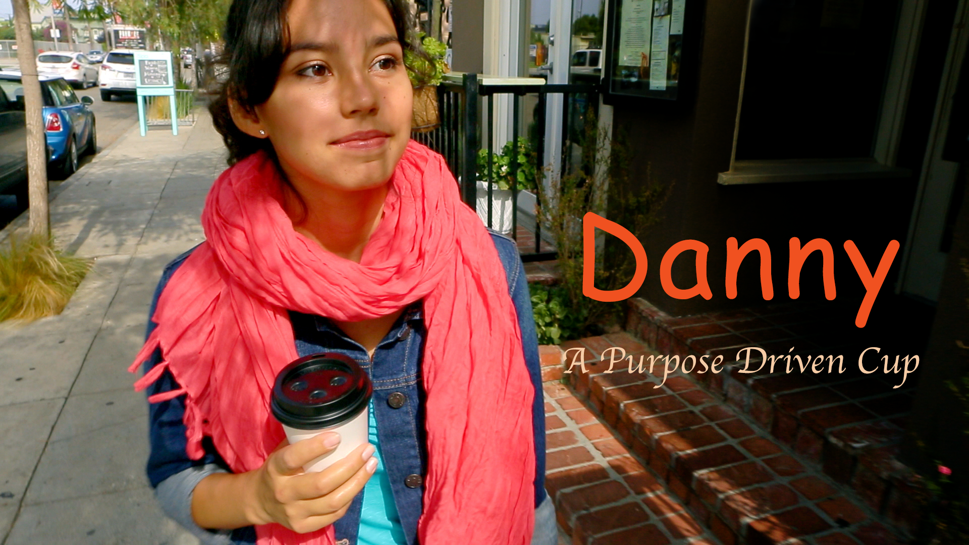 Danny: A Purpose Driven Cup