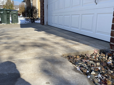 Hazardous Residential Driveway Lifted, Clean and Quick Expert Solution