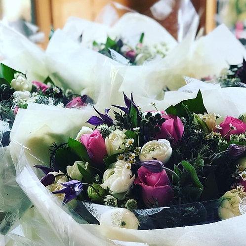 Flower Bouquet on Arrival