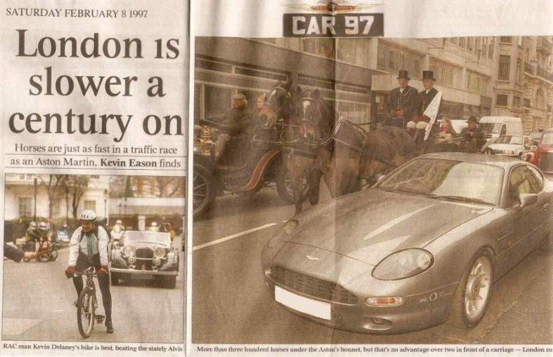 Press London Traffic Race 1997