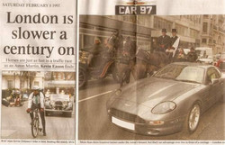 Press London Traffic Race 1997