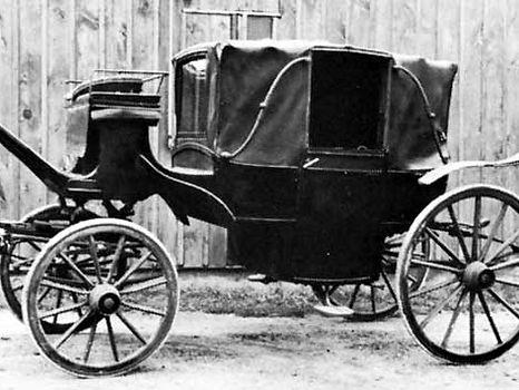 marsdens of birmingham Coachmakers. Landau.