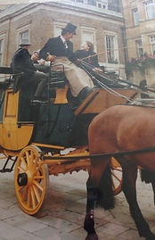Royal Logistic Core (RLC) Army Coach with four in hand team driven by John Seear