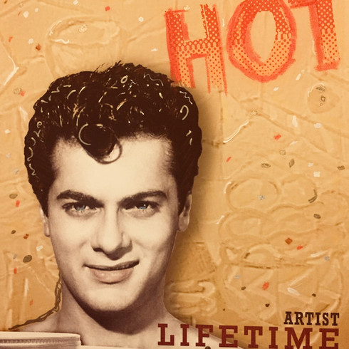 "Tony Curtis Portrait ""HOT"""