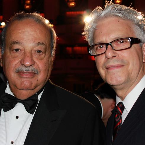 Carlos Slim and Tom Zotos