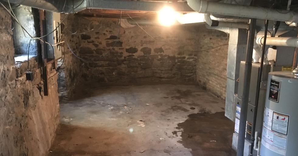 junk removal, basement
