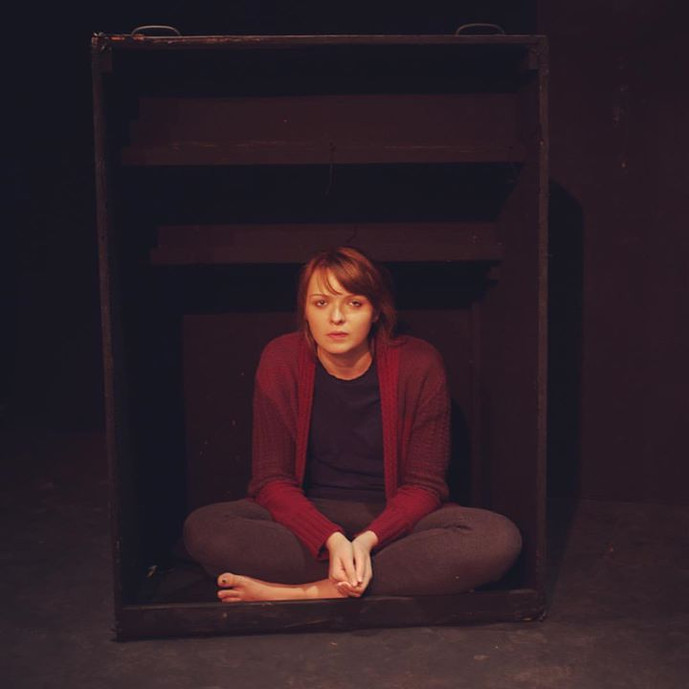 Elise in A part/Apart March 2017 at The Rifle Range Theatre.