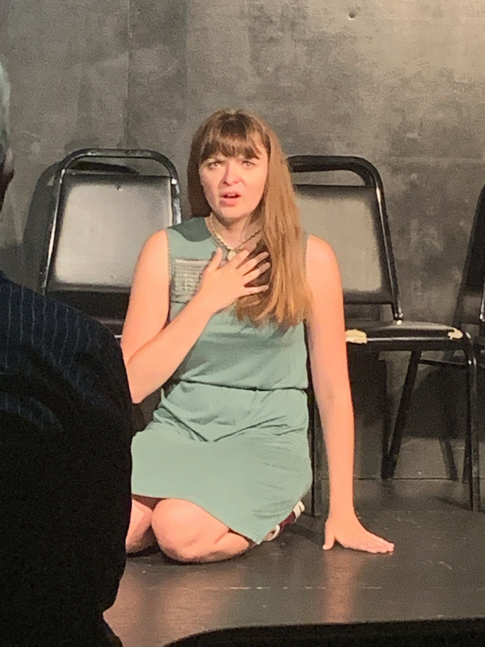"Elise in ""Volcano: The Musical"" at The Magnet Training Center"