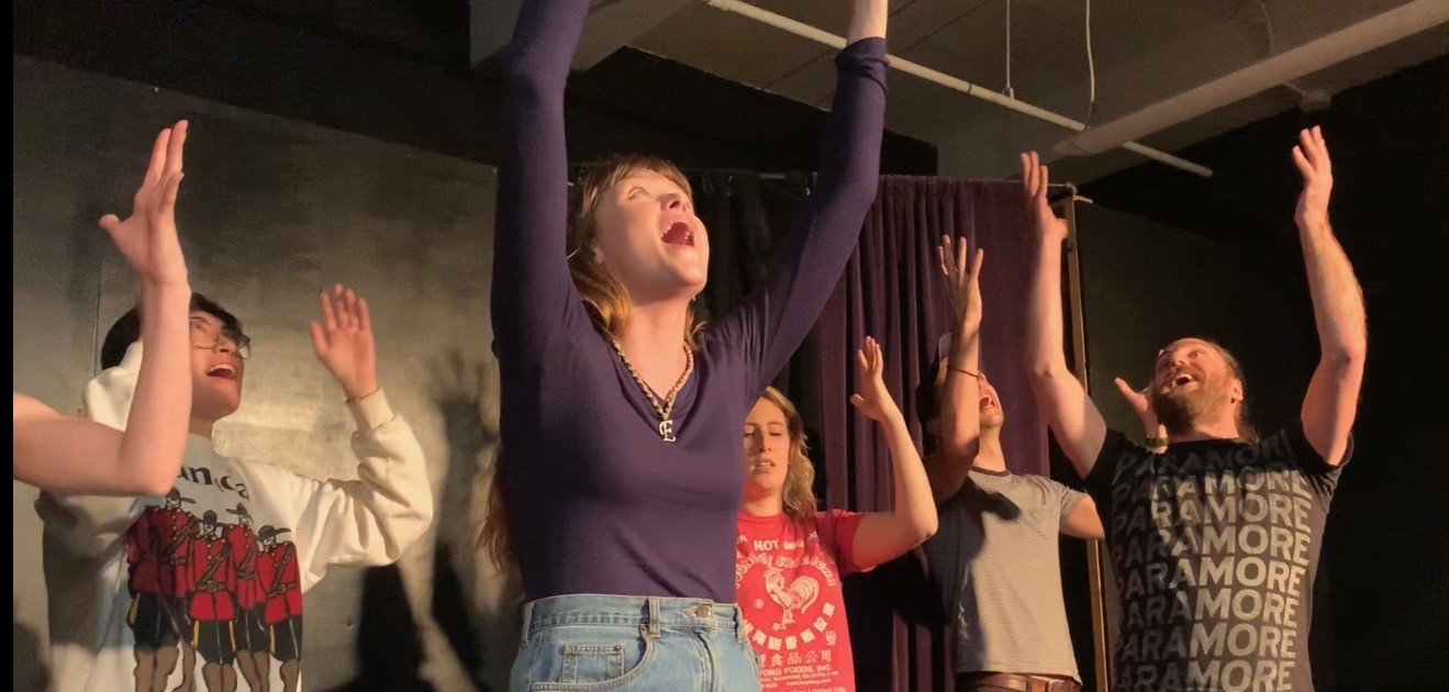 "Elise in ""Dorm Room: The Musical"" at The Magnet Training Center"