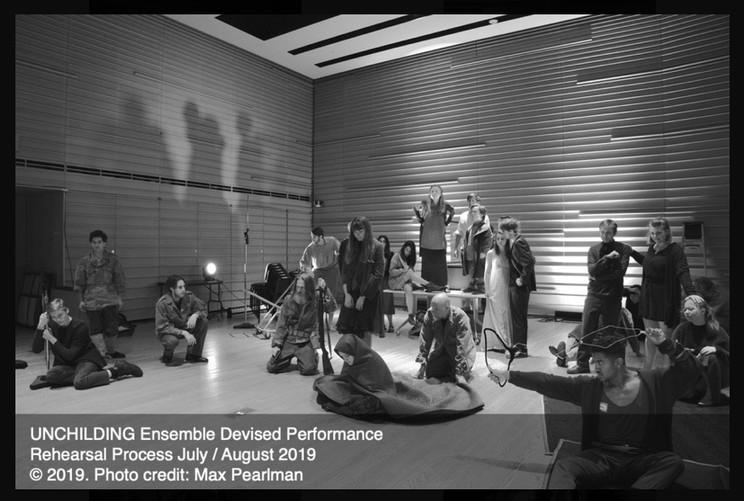 Elise in Unchilding at The DiMenna Center August 2019.