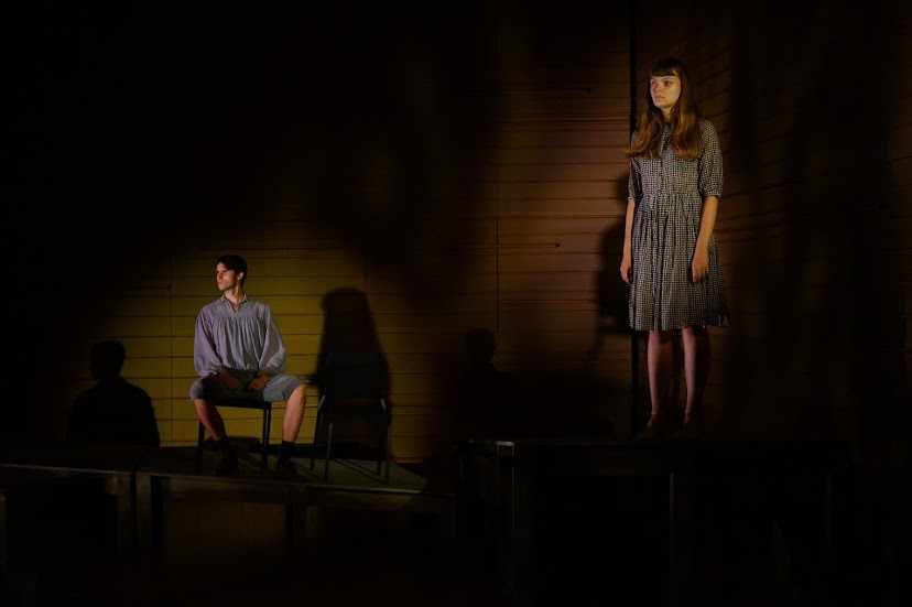 Elise as Laura in Unchilding at NYC's The DiMenna Center August 2019.