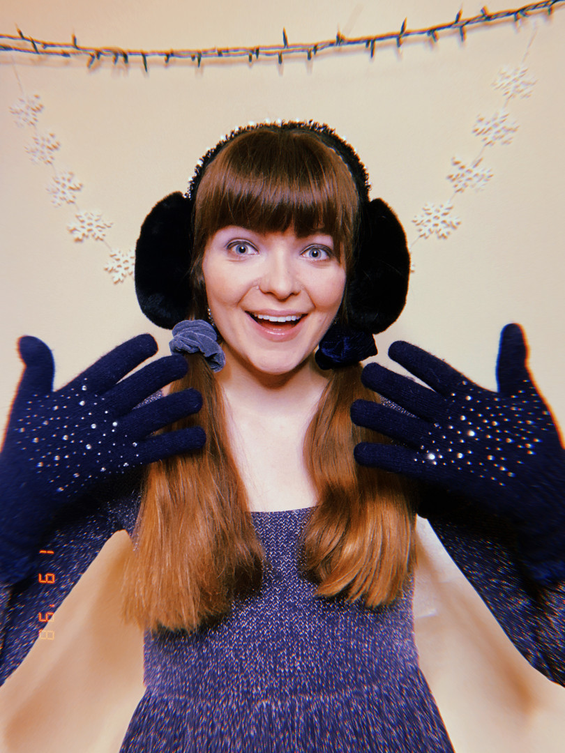 Elise as Violet Icicle in Finding Frosty.