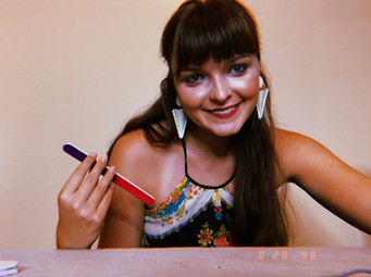 Elise as Nadia Seymour in Murder in Maui