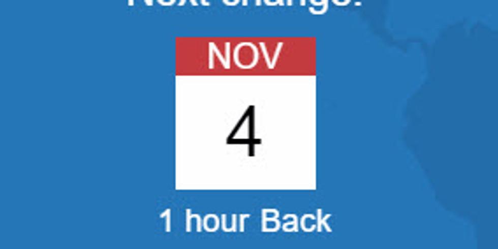 Nov 4, 2018 - Daylight Saving Time Ends (Standard Time Starts)