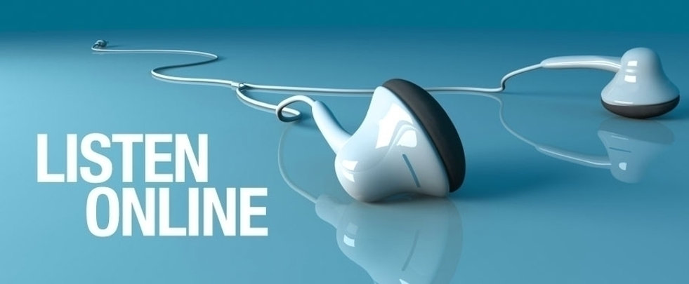 Audio streaming for the latest 10:30am Sunday services