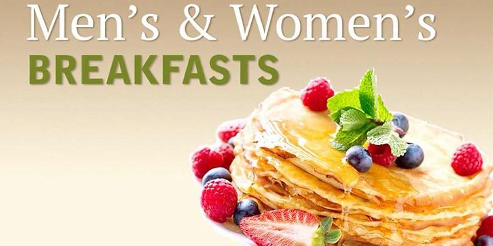 Monthly Men's and Women's Breakfast