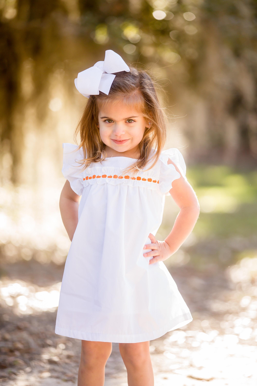 girls pumpkin dress 2