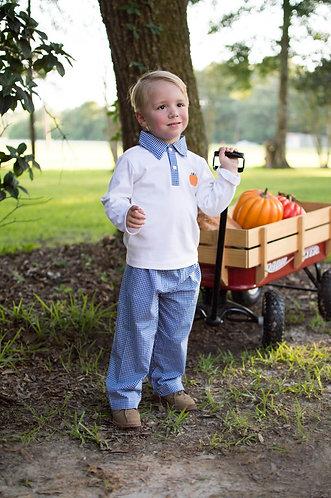 Boy's Pumpkin Pants Set